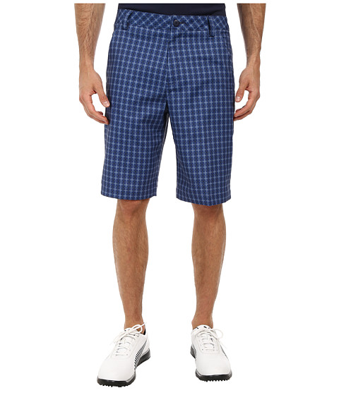 PUMA Golf - Go Time Plaid Tech Short (Folkstone) Men