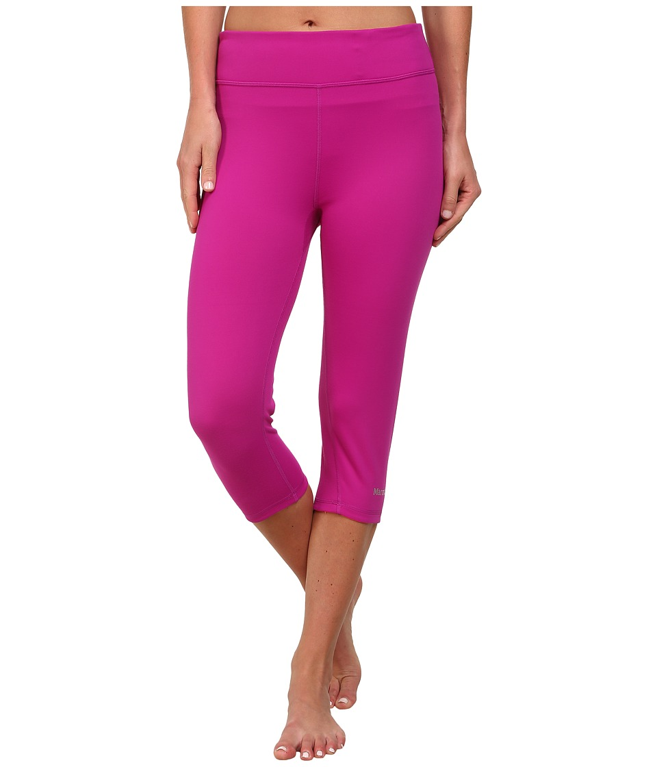 Marmot - Catalyst 3/4 Reversible Tight (Beet Purple/Bright Pink) Women's Capri