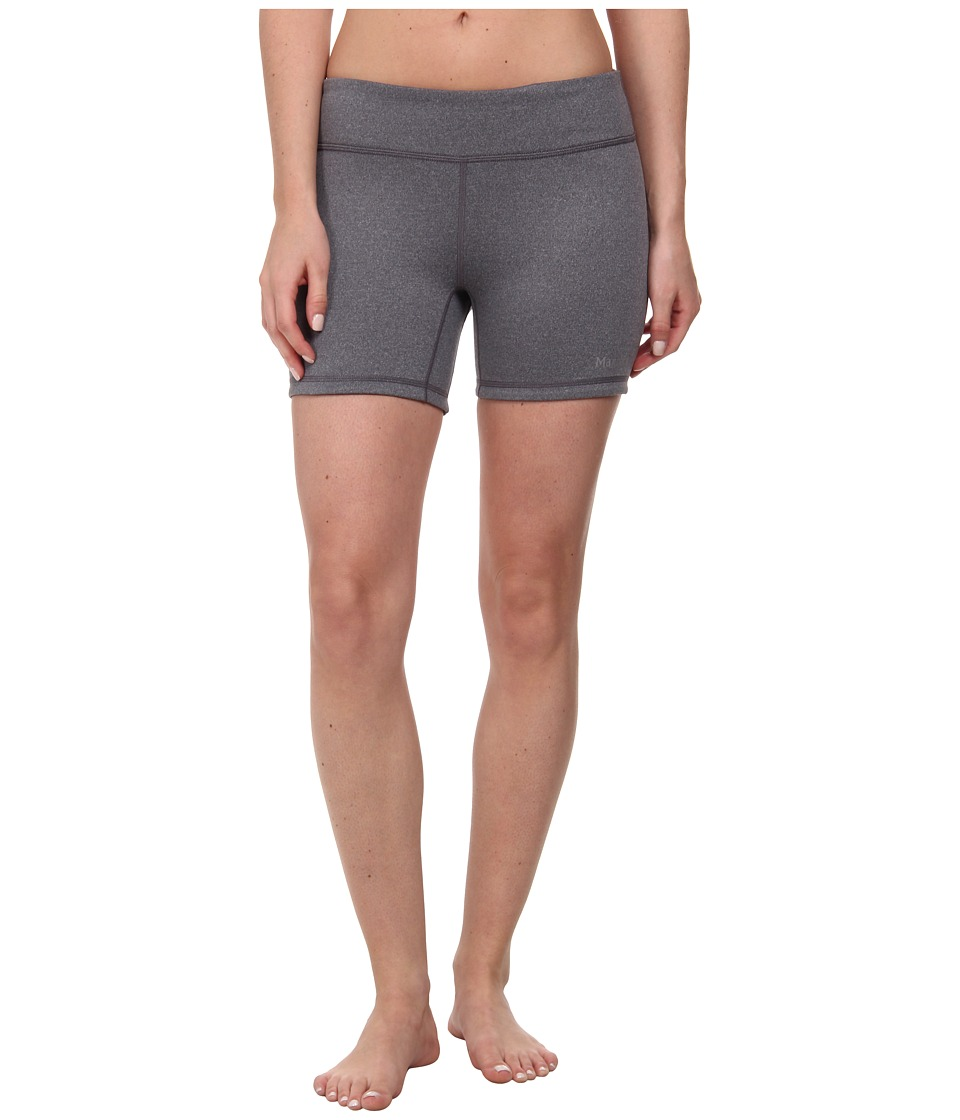 Marmot - Catalyst Short Reversible (Dark Steel Heather/Black) Women's Shorts