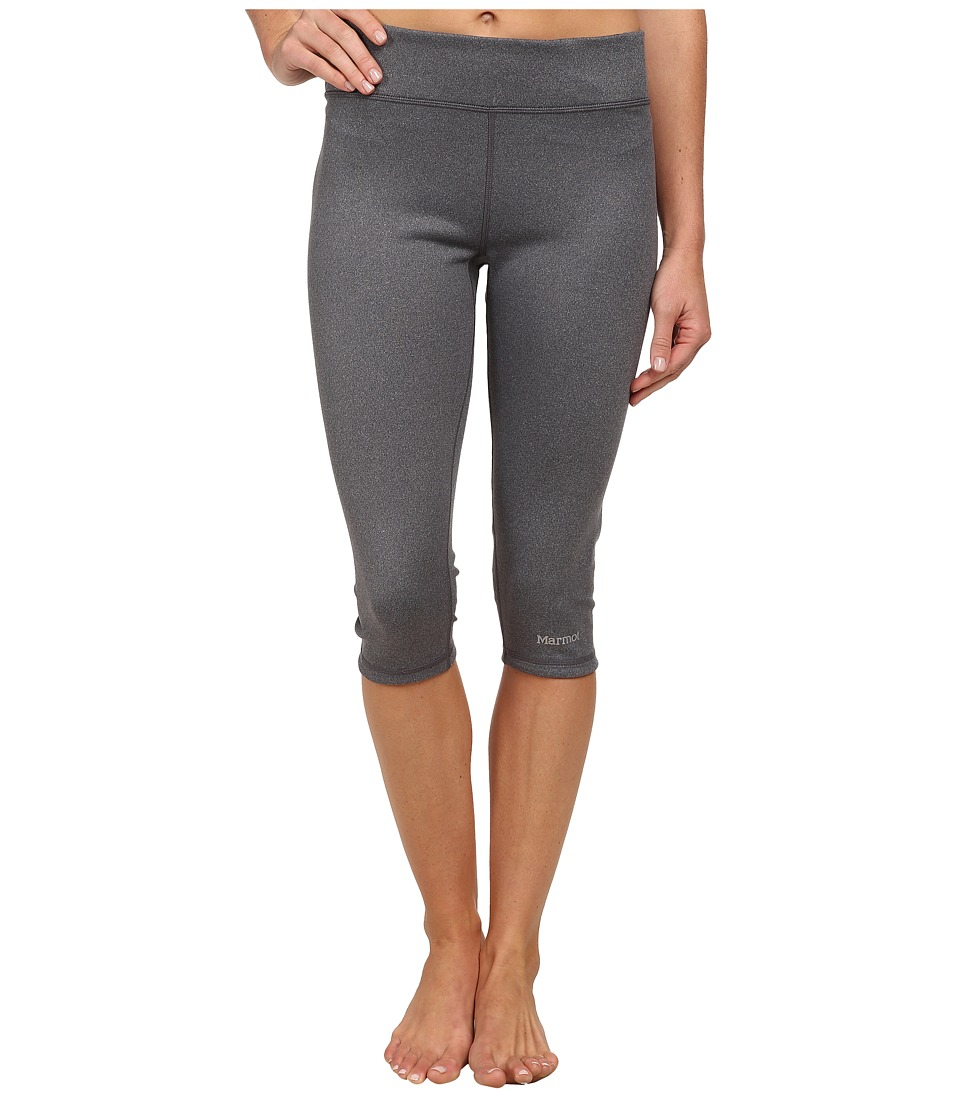 Marmot - Catalyst 3/4 Reversible Tight (Dark Steel Heather/Black) Women's Capri