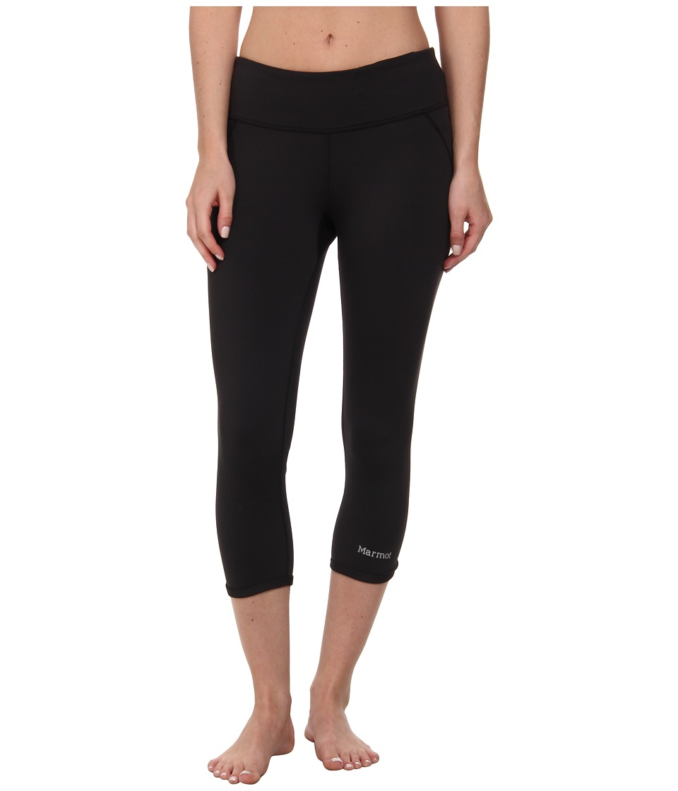 Marmot - Jump Start Capri (Black) Women's Capri