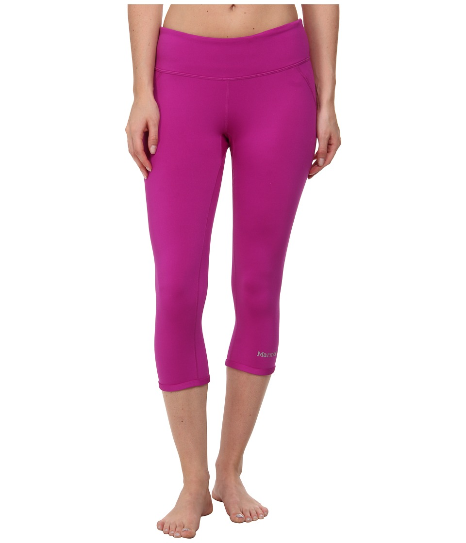 Marmot Jump Start Capri (Beet Purple) Women