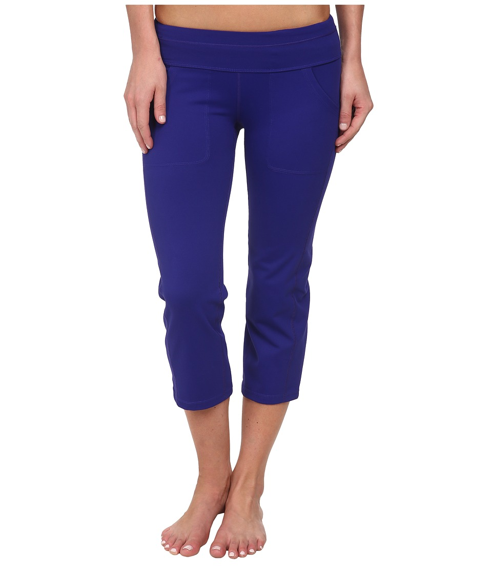Marmot - Everyday Knit Capri (Midnight Purple) Women's Capri