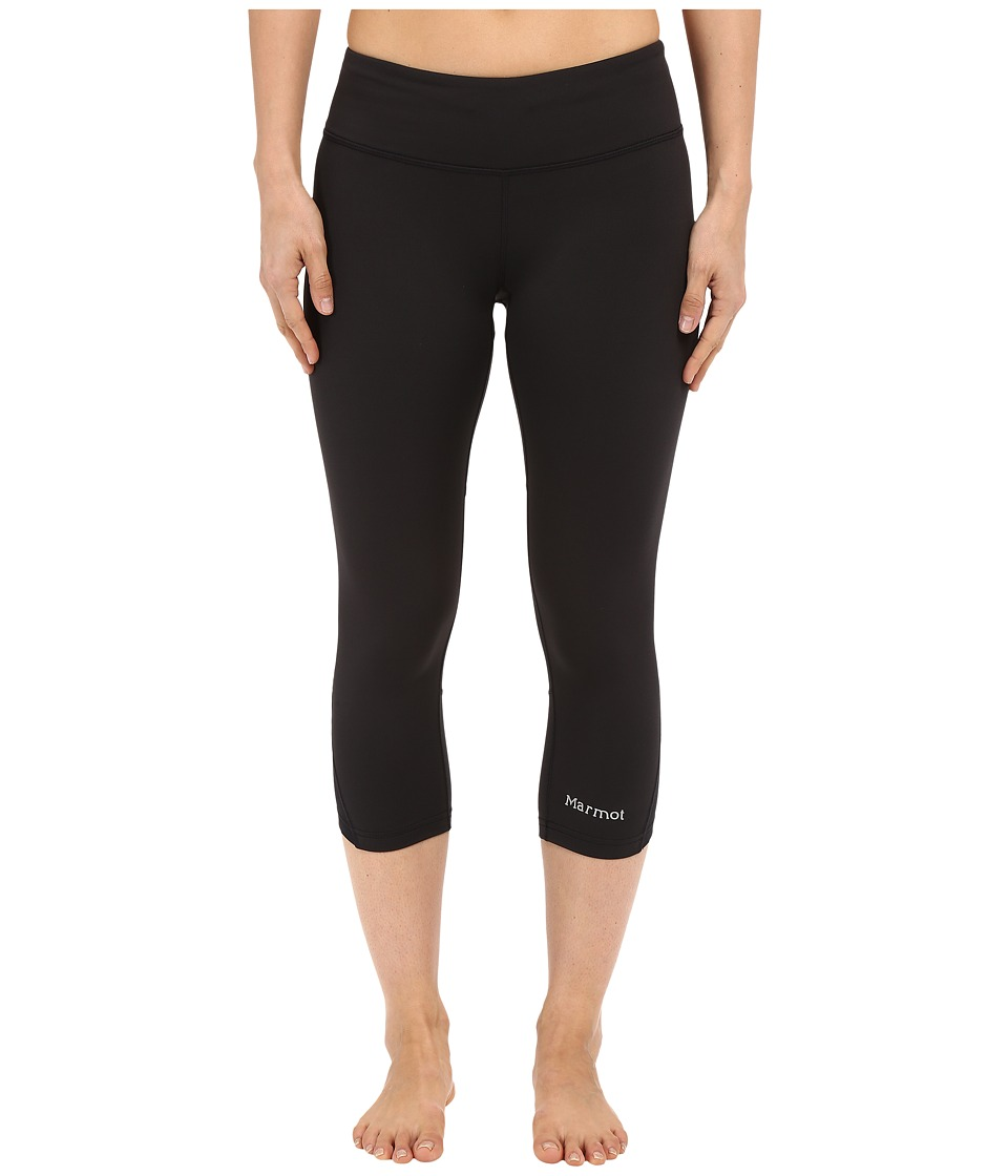 Marmot - Interval Capri (Black) Women's Capri