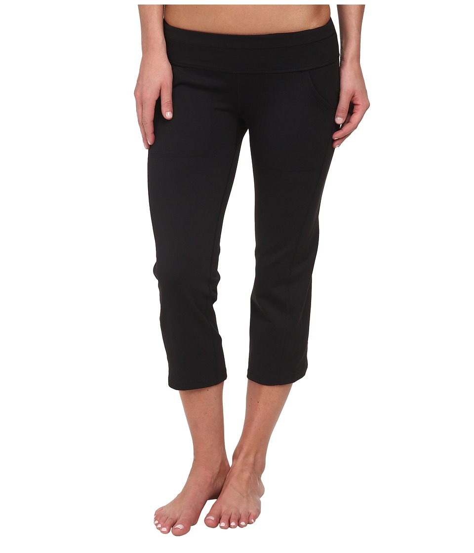 Marmot - Everyday Knit Capri (Black) Women's Capri