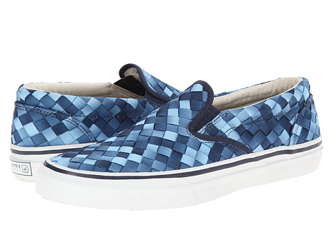 Sperry Top-Sider - Striper S/O Webbing (Blue) Men