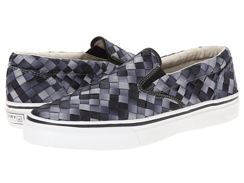 Sperry Top-Sider - Striper S/O Webbing (Grey) Men's Shoes
