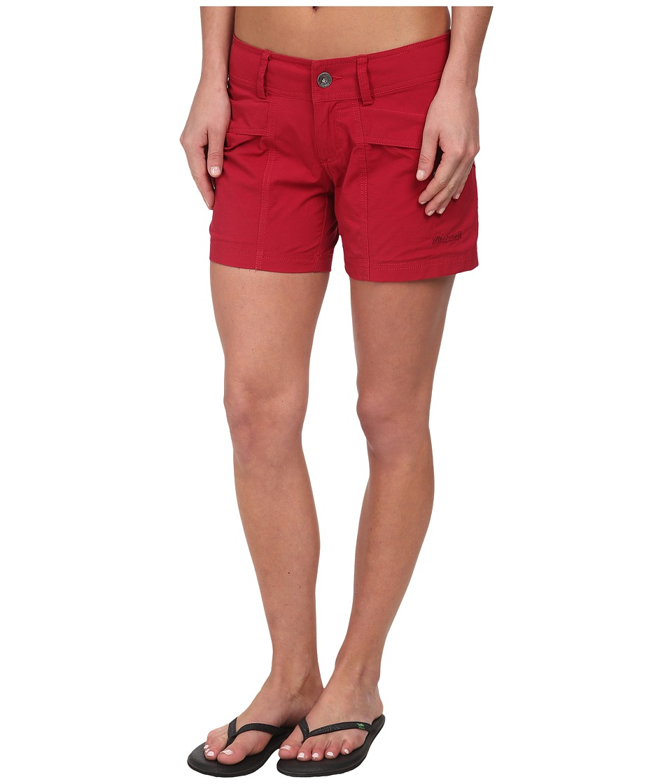 Marmot - Ginny Short (Dark Raspberry) Women's Shorts