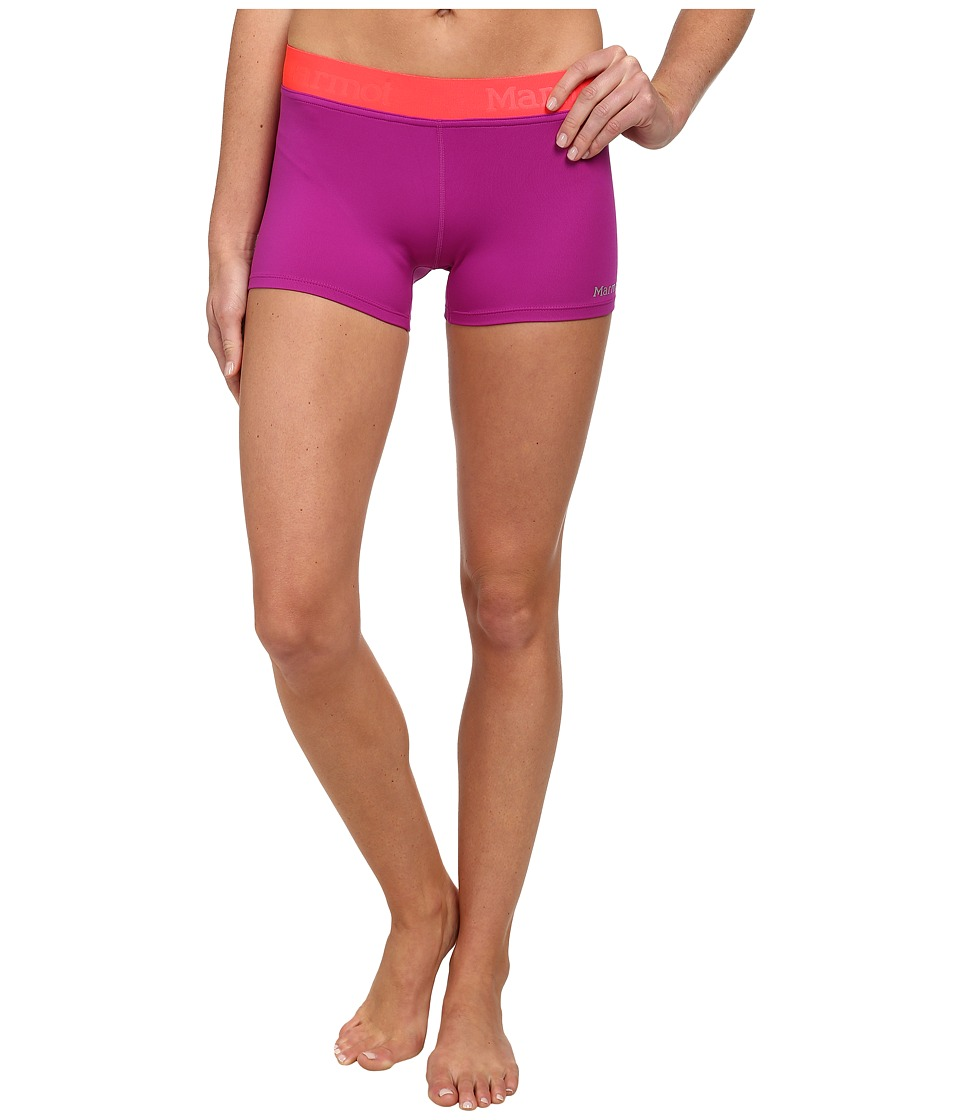 Marmot Motion Short (Beet Purple/Bright Pink) Women