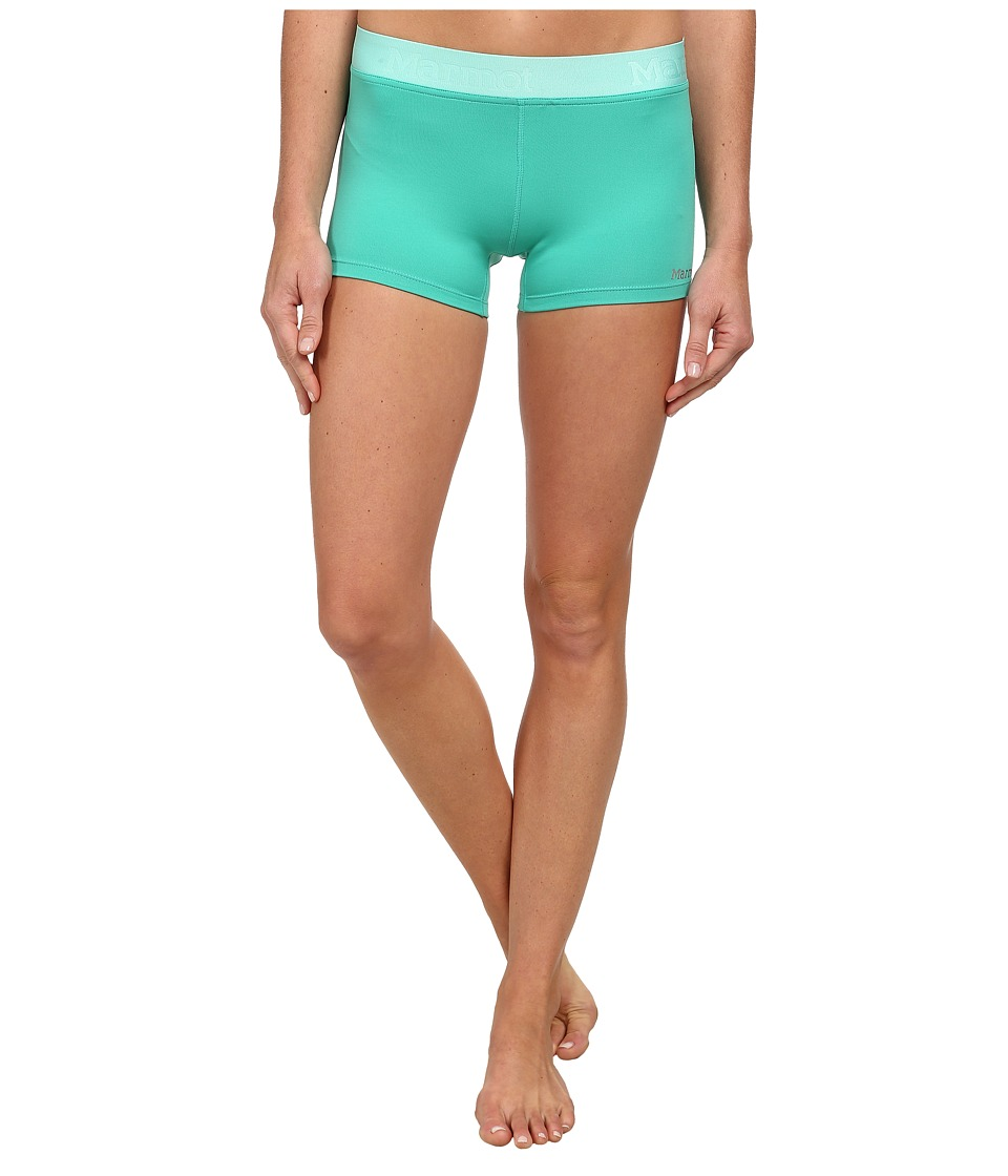 Marmot Motion Short (Gem Green/Ice Green) Women
