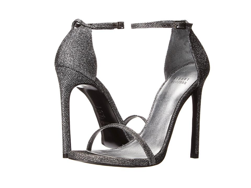Stuart Weitzman Bridal & Evening Collection - Nudist (Pewter Noir) High Heels