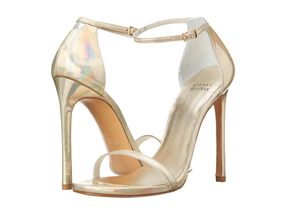 Stuart Weitzman Bridal & Evening Collection Nudist (Cava Iris Specchio) High Heels