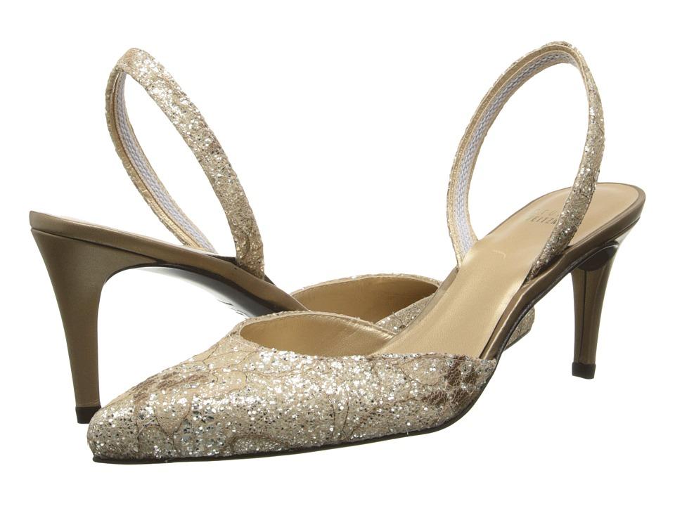 Stuart Weitzman Bridal & Evening Collection - Sashamid (Quartz Sugar Lace) High Heels