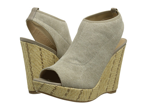 Stuart Weitzman - Glover (Cord Jeans Stretch) Women's Wedge Shoes
