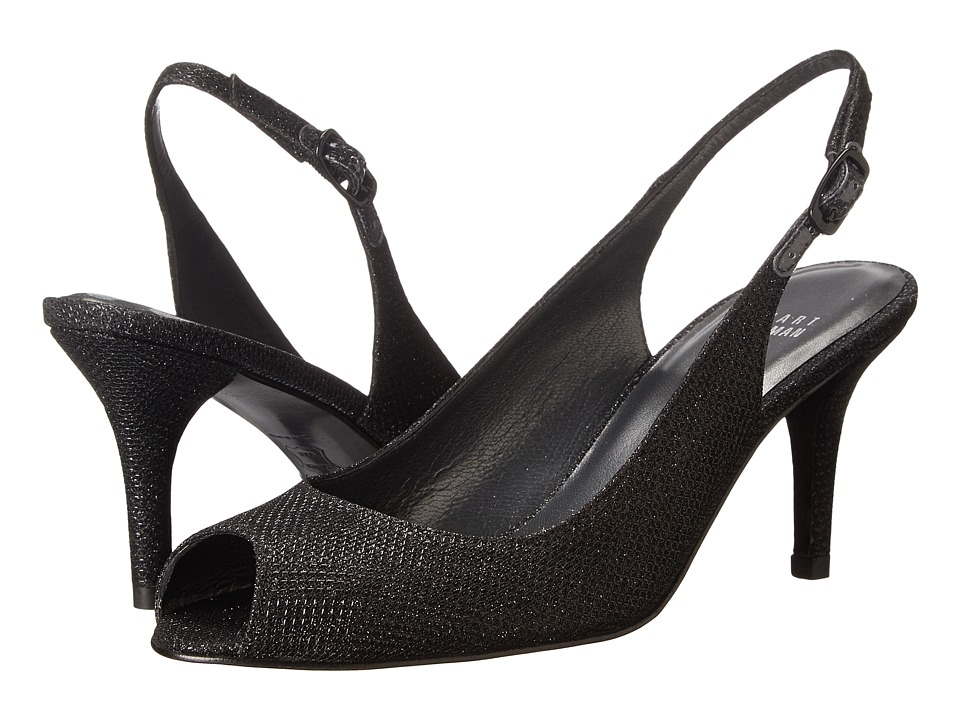 Stuart Weitzman Bridal & Evening Collection - Slinky (Black Noir) High Heels
