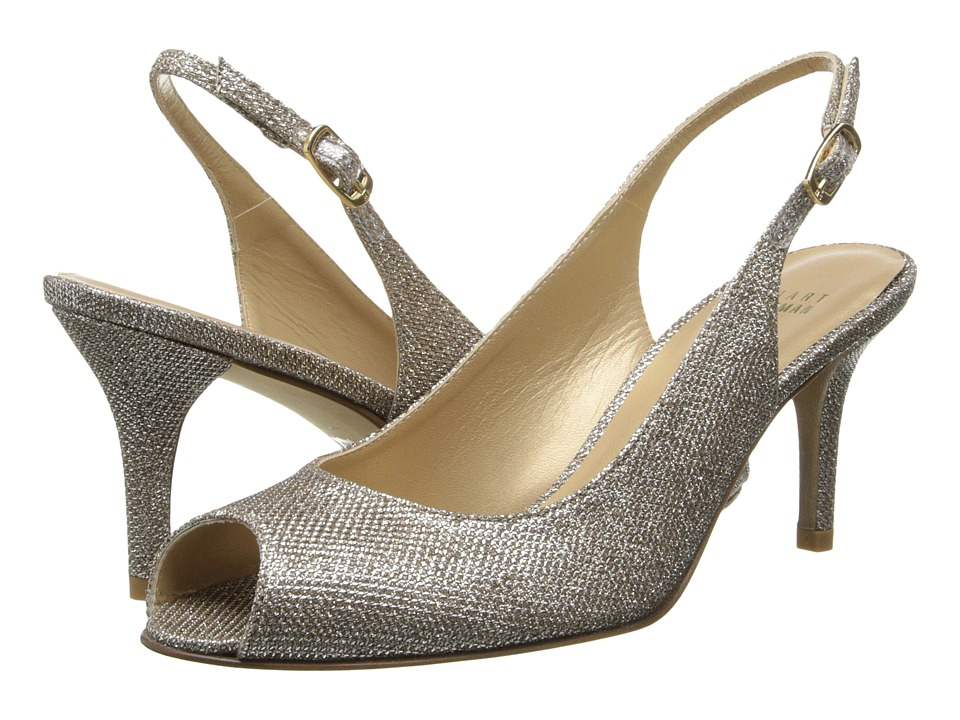 Stuart Weitzman Bridal & Evening Collection - Slinky (Platinum Noir) High Heels