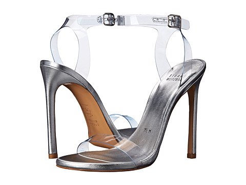 Stuart Weitzman Bridal & Evening Collection - Bareitall (Clear Vinyl) High Heels