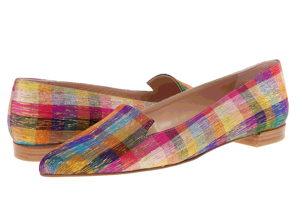 Stuart Weitzman - Rialto (Tinsel Silk) Women's Flat Shoes