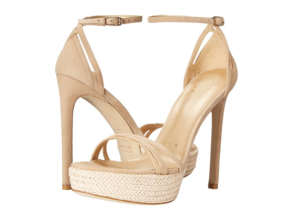 Stuart Weitzman - Whichway (Beach Suede) High Heels