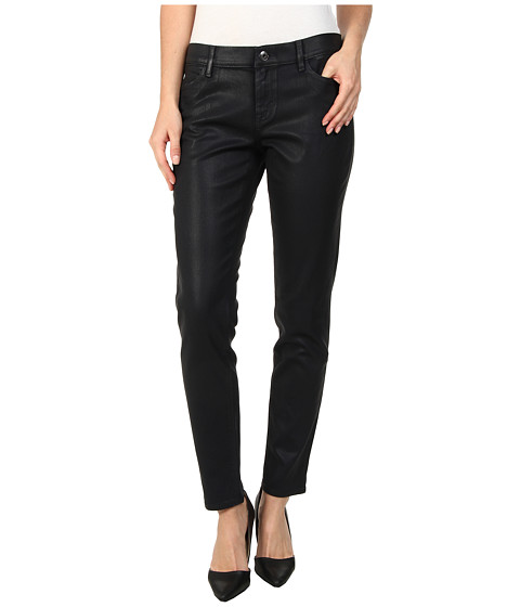 Dittos - Selena Coated in Navy Wax (Navy Wax) Women's Jeans