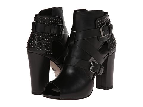 Pour La Victoire - Estel (Black Nappa/Gunmetal Studs) High Heels