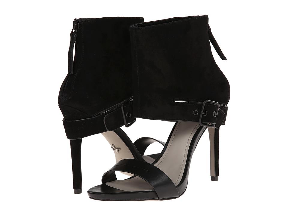 Pour La Victoire - Vicki (Black Nappa/Matte Python) High Heels