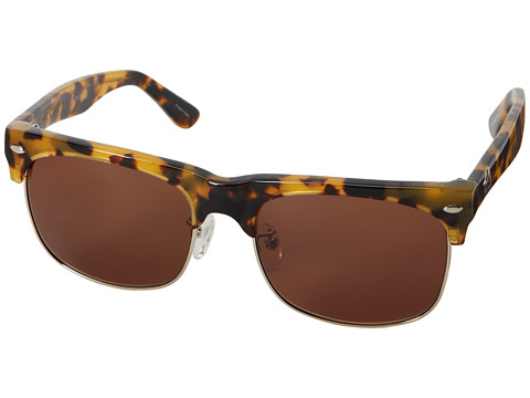 Sabre Vision - Mr. Creepy - Sabre X Stussy Collaboration Frame (Camel Tortoise/Bronze Lens) Fashion Sunglasses