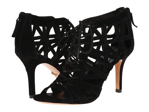 Pour La Victoire - Charlize (Black Kid Suede) High Heels