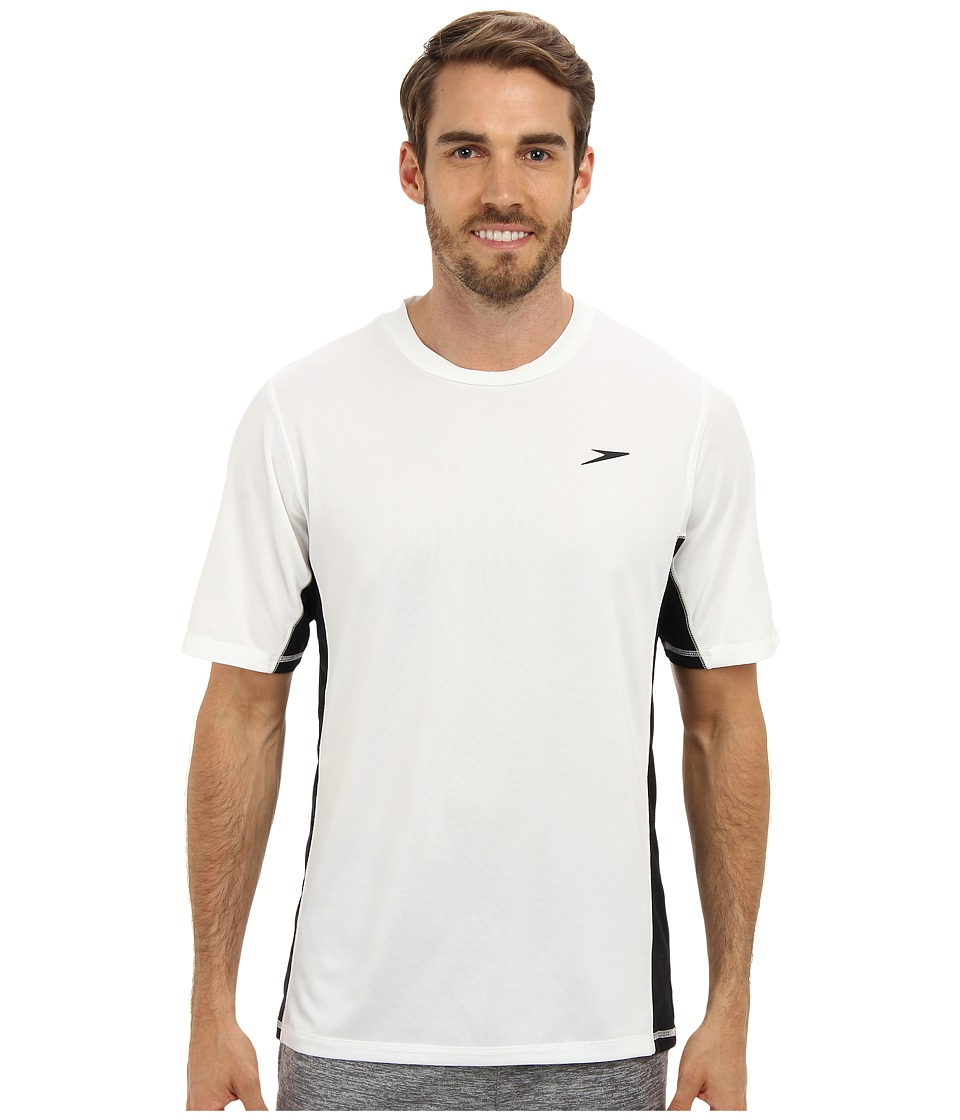 Speedo - Longview Swim Tee (White) Men