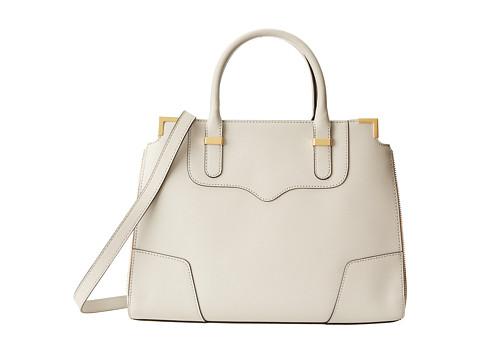 Rebecca Minkoff - Amorous Satchel (Putty) Satchel Handbags