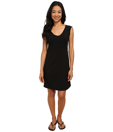 Columbia - Saturday Trail Knit Dress (Black Heather) Women's Dress