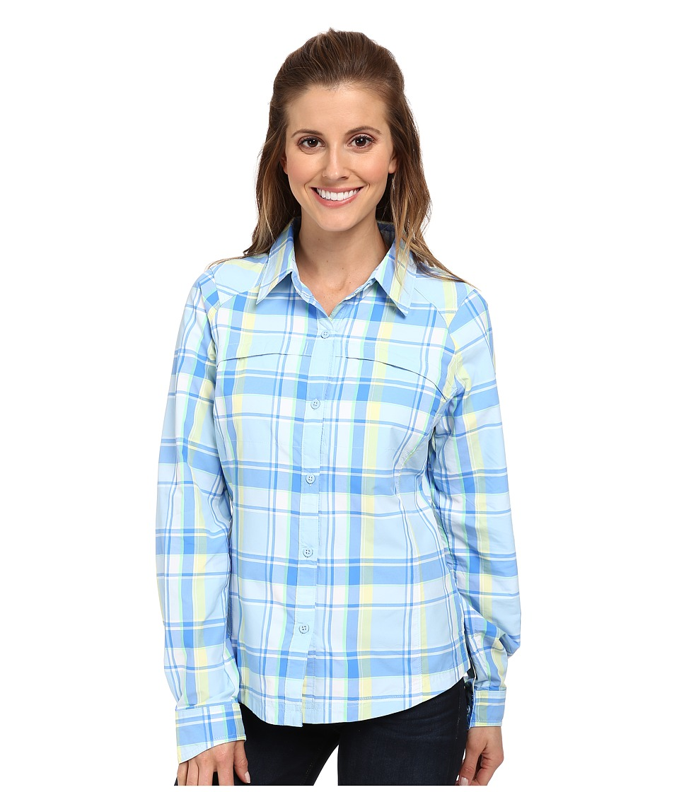 Columbia - Silver Ridgetm Plaid L/S (Air Dobby) Women's Long Sleeve Button Up