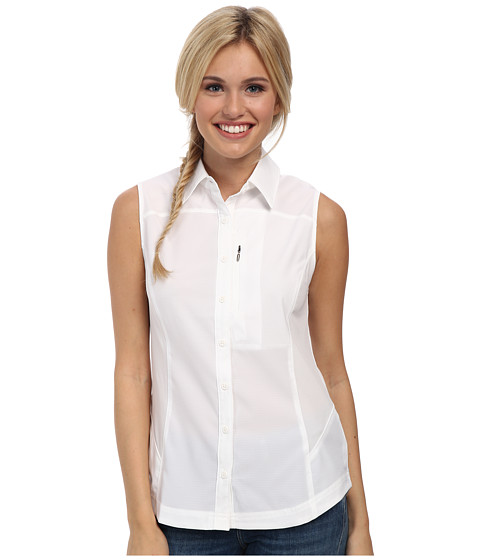 Columbia - Silver Ridge II Sleeveless Shirt (White) Women
