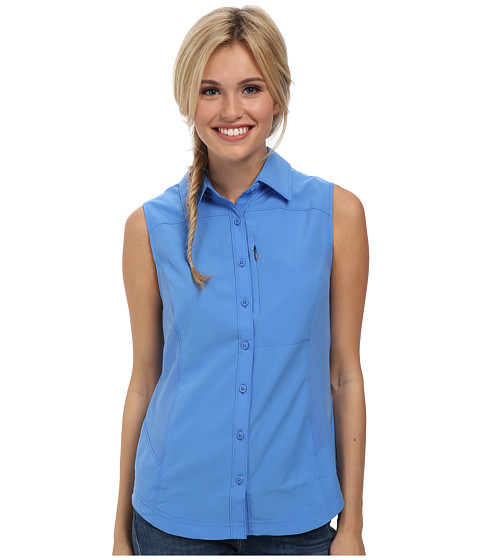 Columbia - Silver Ridge II Sleeveless Shirt (Harbor Blue) Women's Sleeveless