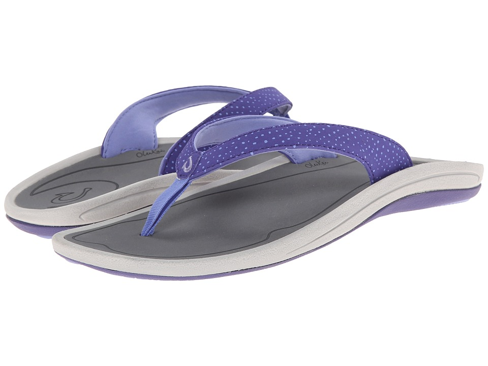 OluKai - I'a (Deep Violet/Charcoal) Women's Sandals