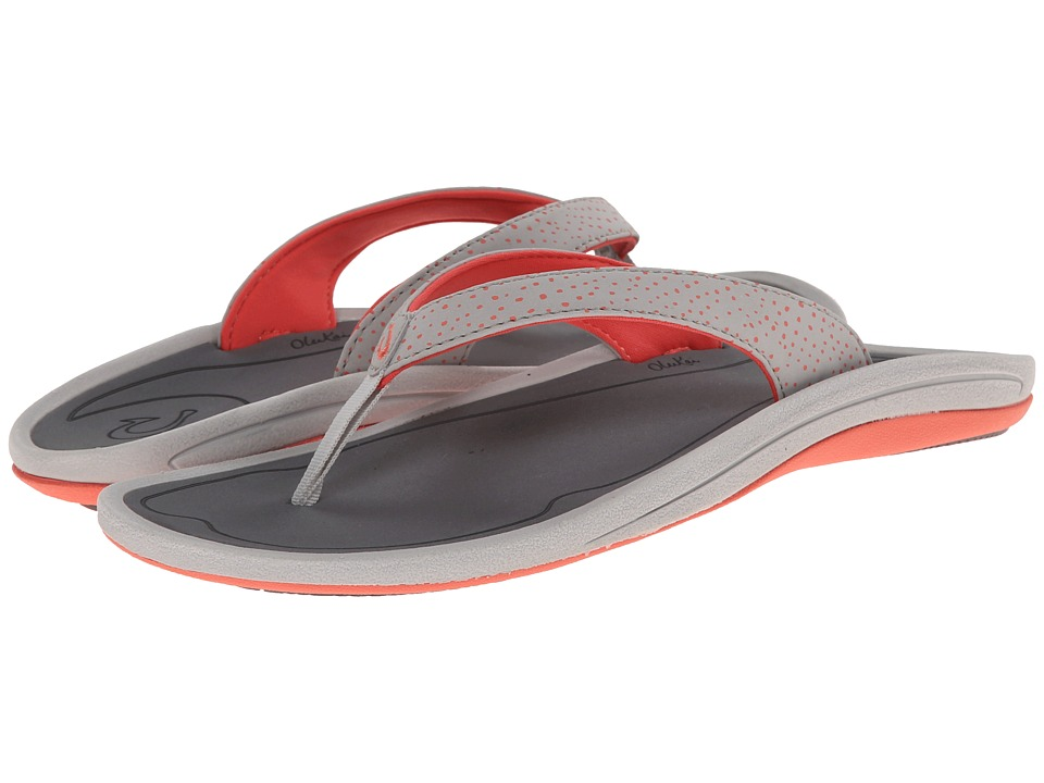 OluKai - I'a (Mist Grey/Charcoal) Women's Sandals