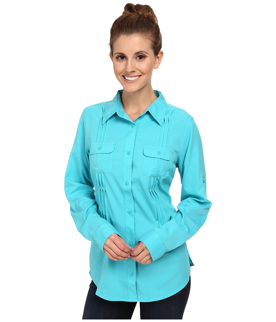 Columbia Sun Goddess II L/S Shirt (Geyser) Women