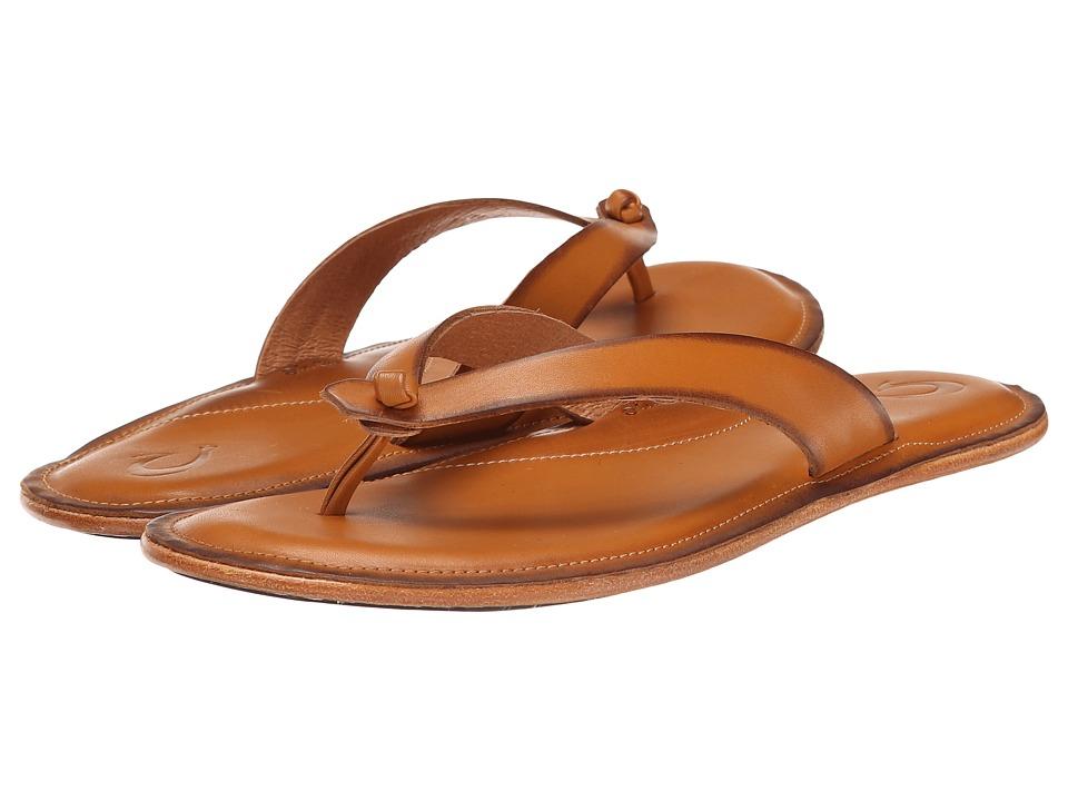 OluKai - Li'i (Mustard/Mustard) Women's Sandals