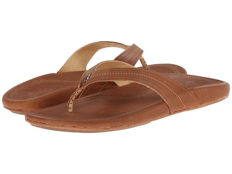OluKai - Wana (Rattan/Rattan) Women's Sandals