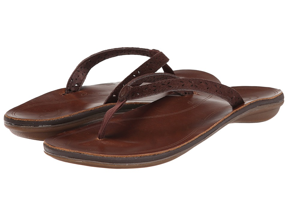 OluKai - Puka (Dark Java/Bean) Women's Sandals