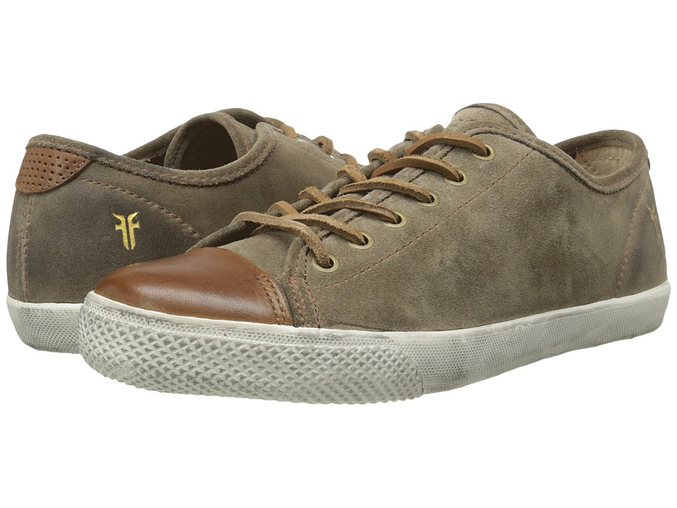 Frye - Chambers Cap Low (Grey Oiled Suede/Smooth Full Grain) Men's Lace up casual Shoes