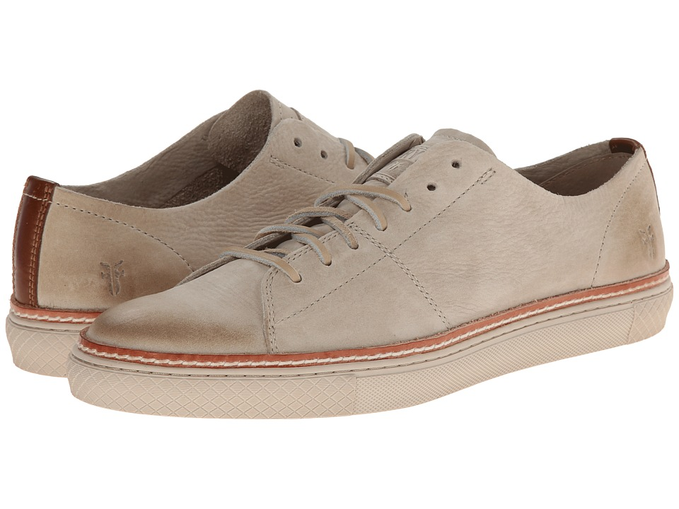 Frye - Gates Low Lace (Cement Sunwash Nubuck) Men's Lace up casual Shoes