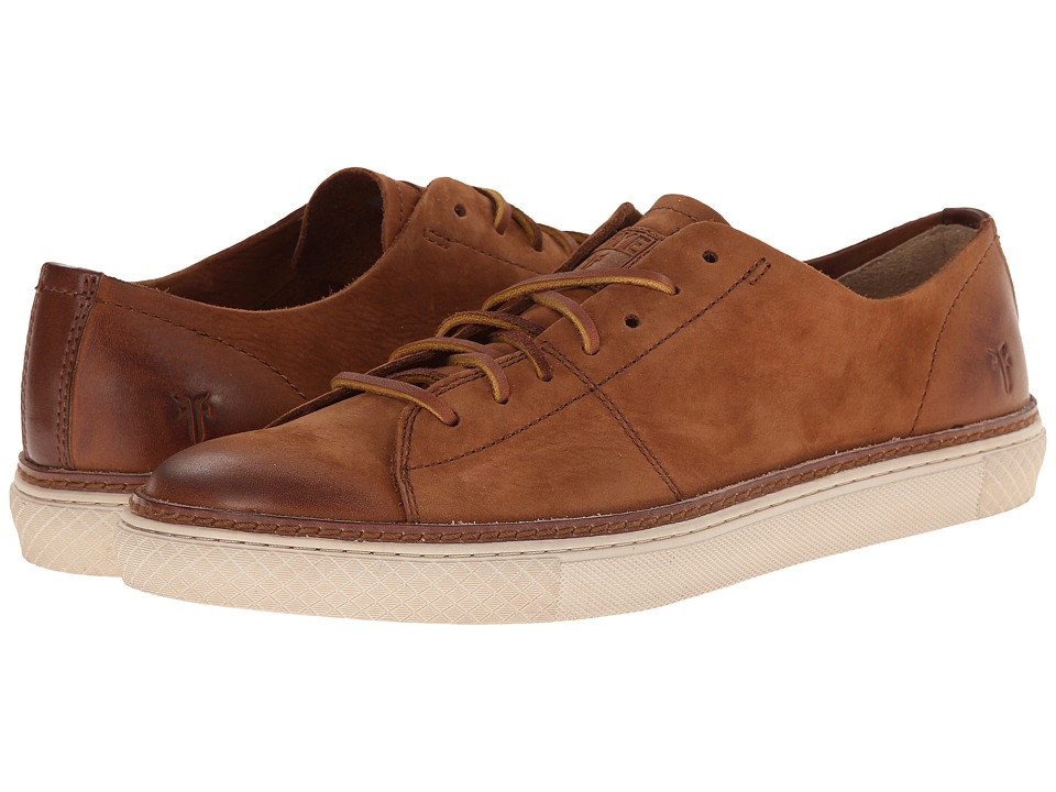 Frye Gates Low Lace (Cognac Sunwash Nubuck) Men