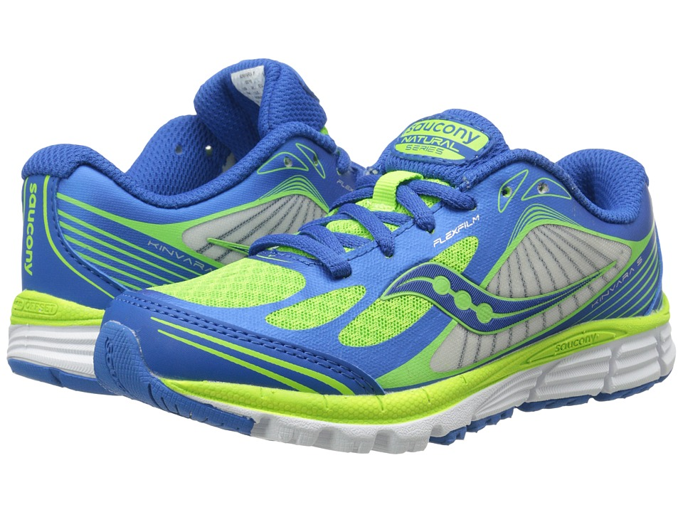 Saucony Kids - Kinvara 5 (Little Kid) (Blue/Green) Boys Shoes