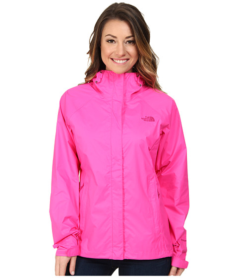 The North Face - Venture Jacket (Glo Pink) Women's Coat