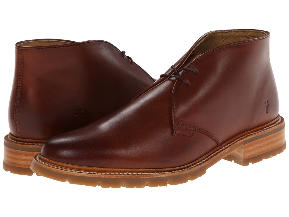 Frye - James Lug Chukka (Redwood Smooth Full Grain) Men