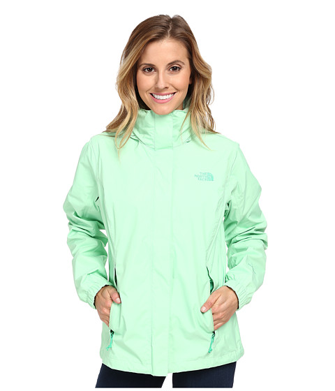 The North Face - Resolve Jacket (Green Ash) Women's Coat