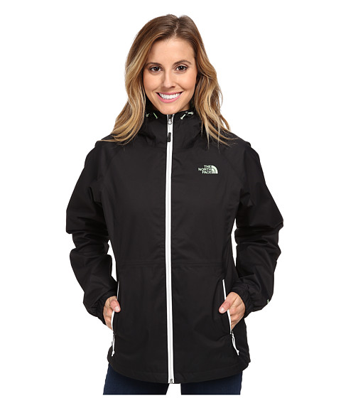 The North Face - Momentum Triclimate Jacket (TNF Black/Green Ash) Women