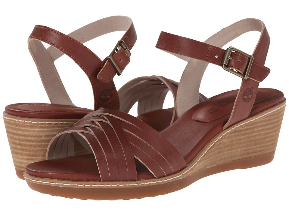 Timberland - Earthkeepers Wollaston Woven Leather (Light Brown Dry Gulch) Women's Sandals
