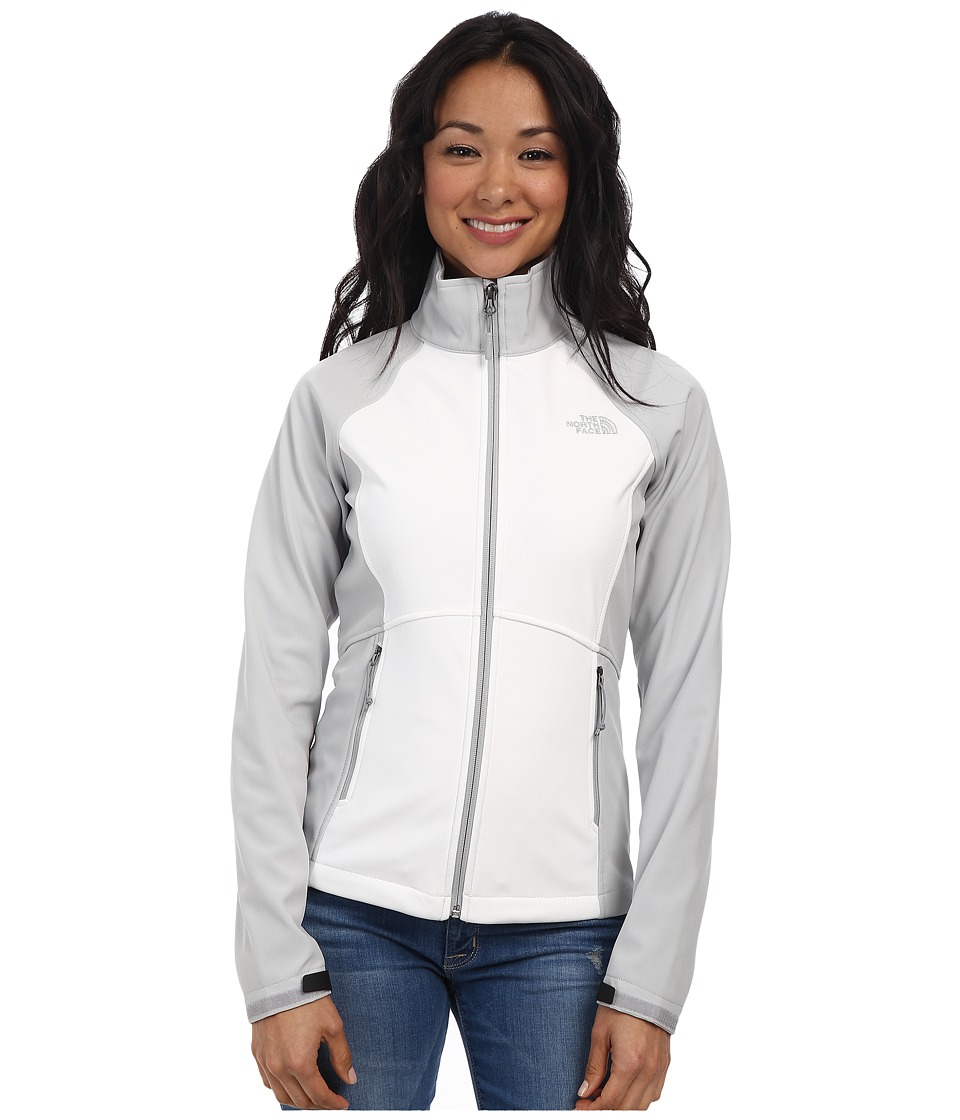 The North Face - Shellrock Jacket (TNF White/High Rise Grey) Women's Jacket